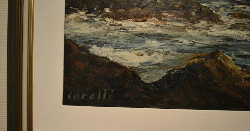 Картина масло Correli