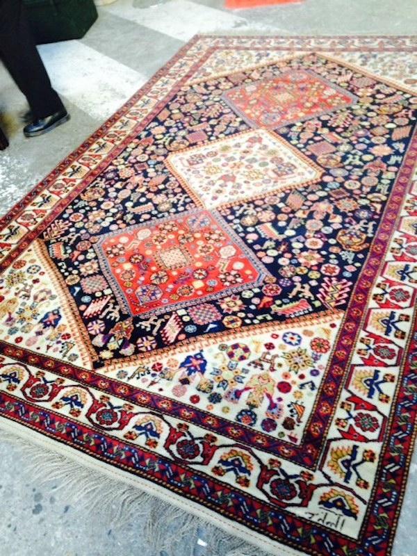 Автентичен ръчно изработен персийски килим